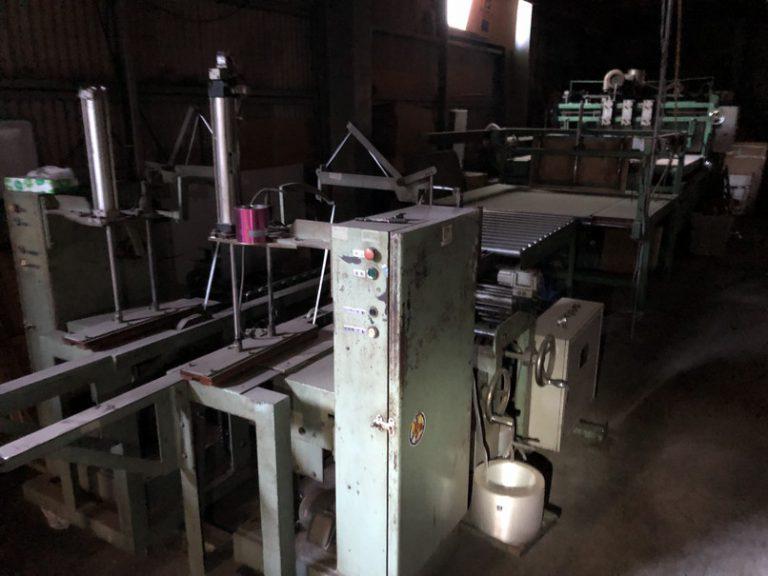 工場機械搬出と産廃処理