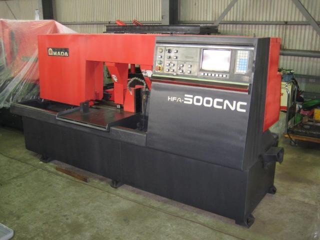 500mmバンドソーHFA-500CNC