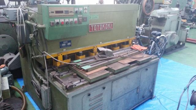 1.2m油圧シャーリングHSS-1245