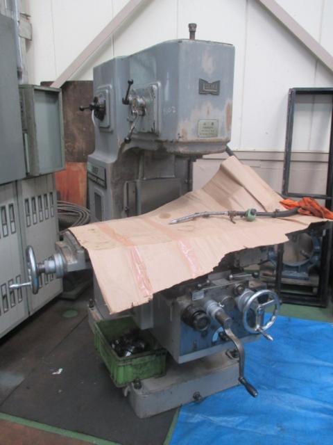ヒザ型立フライス2MF-V