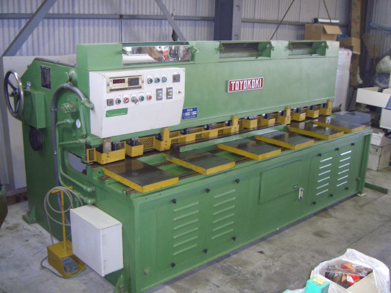 2.5m油圧シャーリングHSS-2545