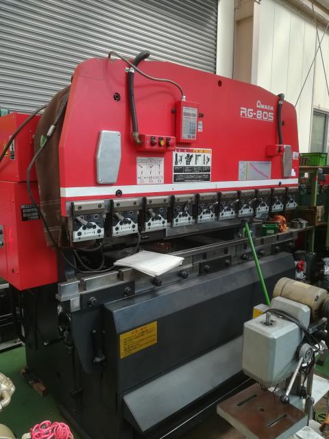 2.0m油圧プレスブレーキRG-80S